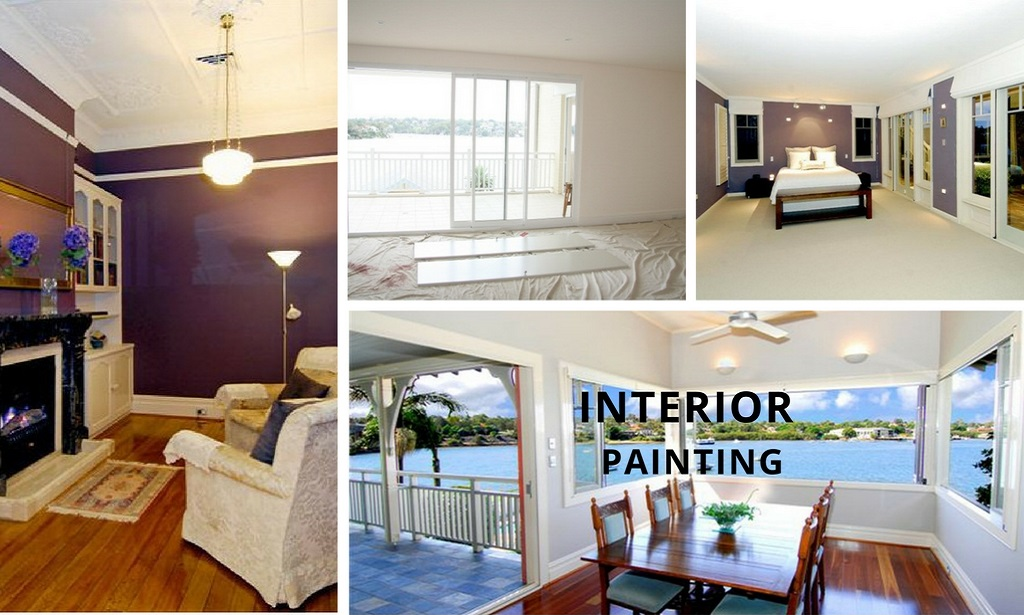 INTERIOR HOUSE PAINTING BrushRight Painters Sydney Central Interesting Interior Home Painters Property